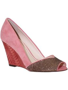 Plenty by Tracy Reese Wylie Pump - fabulous pink wedges!