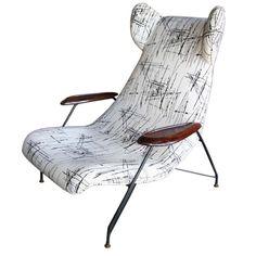 armchair - martin eisler - brazil - 1950s - height: 36 in. (91 cm)  second height: 13 in. (33 cm)  depth: 24 in. (61 cm)  width/length: 34 in. (86 cm) - via adesso dealer ref. : S-291 ref. : U12071481751093 - 11,600 usd