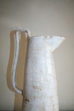 Ceramic glazed jug by No21