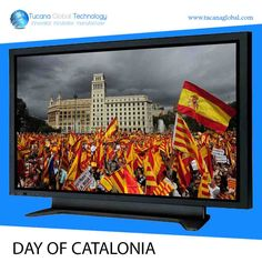 A Very Happy #Day of #Catalonia in #Spain.