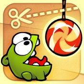 CUT THE ROPE:  Another example of a problem solving app -- that makes you smile.
