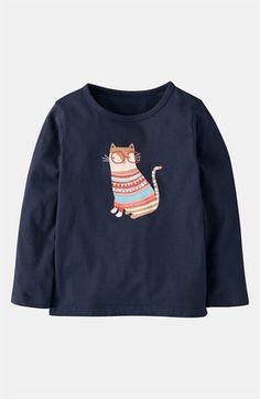 Mini Boden 'Winter Wooly Pet' Tee   #Boden #magicalmenagerie