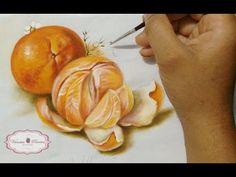 PINTANDO LARANJA / Painting Orange - YouTube