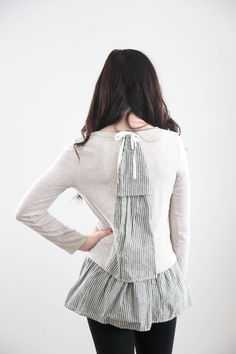 The 'Baby Got Striped Back' Blouse – Piper & Scoot