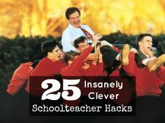 25 Insanely Clever Schoolteacher Hacks 1990s Movies, Old Movies, 1980s Films, Goldie Hawn, Best Robin Williams Movies, Clever School, Captain My Captain, Inspirational Movies, Dead Poets Society