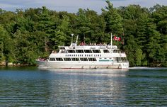 Gananoque Boat Line    In the Thousand Islands, on the St. Lawrence River; Ontario, Canada.