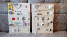 Any of these Busy board 5 doors with locks от PaintingTatyana