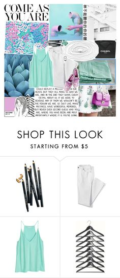 """☽✧ i never met you, but i know you're out there"" by blonde-scorpio-xo ❤ liked on Polyvore featuring Lilly Pulitzer, Nicole Miller, Chanel, Bobbi Brown Cosmetics, Lands' End and Keds"