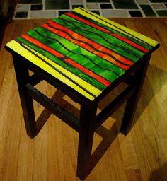 mesa en vitromosaico mosaic tables