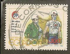 Ecuador Scott 1222 Red Cross Used .85