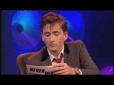 Knock Knock, Doctor Who, David Tennant and Bernard Cribbins. Only 8 seconds, but worth it. :)