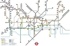 The extremely useful toilets map. | 17 London Underground Maps You Never Knew You Needed