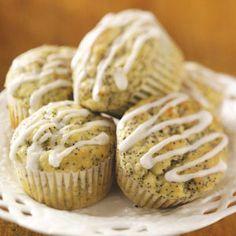 Lemon Poppy Seed Muffins Recipe from Taste of Home