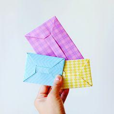 Origami Money Envelopes DIY Tutorial