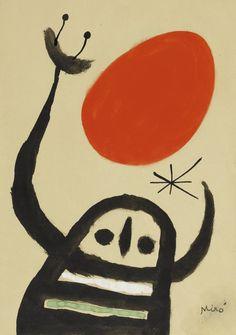 Joan Miró, Composition, 1958