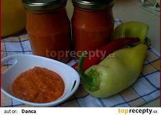 Papriková pasta recept - TopRecepty.cz Pesto Pasta, Stuffed Peppers, Chicken, Meat, Vegetables, Food, Author, Red Peppers, Pasta Al Pesto
