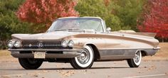 Though it was finished in black with a red interior back then, the 1960 Buick Electra 225 convertible seen here found its current owner in via the pages o Electra 225, Buick Electra, Retro Cars, Vintage Cars, Muscle Cars, Convertible, Automobile, Buick Envision, Buick Cars