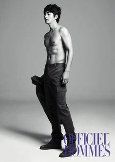 Park Si-Hoo (박시후) for Officiel Hommes