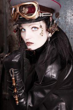 Steampunk-Portrait de Sonja Bender black-marilyn