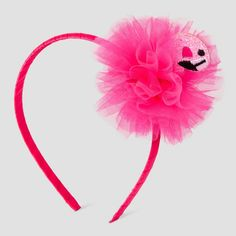 Girls' Pink Flamingo Headband Cat & Jack - Pink, Girl's