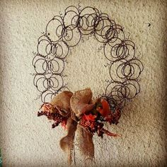 21 Timeless Vintage Decorations Made of Repurposed Bed Springs