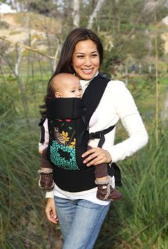 Beco Gemini Baby Carrier.    I loved this thing. Love love love. I wish this print had been available when I had it! Love the owl!