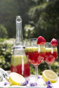 St[v]ory z kuchyne | Strawberry and Kiwi Smoothie