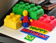 Lego Groom's Cake DIY Tutorial l The Ginger Life Blog