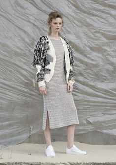 Anna Dudzińska, kolekcja Concrete Green | Mondrianista