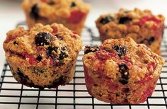 mixed berry muffins