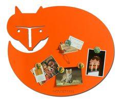 Wonderwall Magneetbord Oranje - wonderwall magneetborden