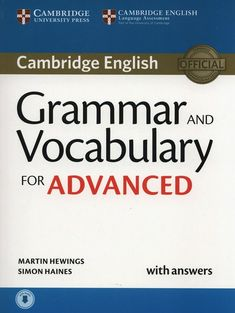Grammar and Vocabulary for Advanced✨<br>AWESOME BOOK! <br>Enjoy!✨<br><br>The CDs can be downloaded from here:<br>https://cloud.mail.ru/public/LSjS/ksV3Uzkc8<br>https://cloud.mail.ru/public/AuEC/d1LRejeqJ<br>https://cloud.mail.ru/public/9FZK/WyxraHdDU<br><br>#topnotchcae #cae #grammarandvocabular..