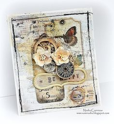 Be Happy *Riddersholm Design* - Scrapbook.com