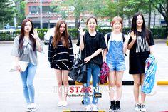 Red Velvet Yeri, Irene, Seulgi, Wendy & Joy Kpop Fashion 150508 2015