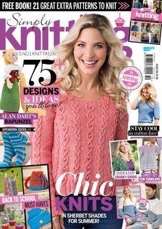 Simply Knitting Issue 150 October 2016 | Martinas Bastel- & Hobbykiste