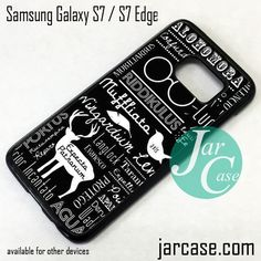 Harry Potter Quotes 3 Phone Case for Samsung Galaxy S7 & S7 Edge