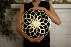Flower of Life Gold Sacred Geometry Mandala - Dreamweaver