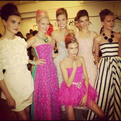 Oscar de la Renta @ New York Womenswear S/S 2013 - SHOWstudio - The Home of Fashion Film via Discoveredd.com
