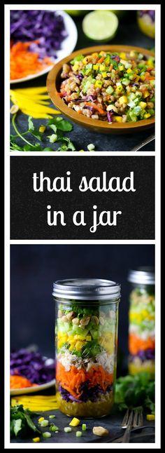 Thai Salad inCrunchy