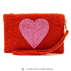 Heart red pink