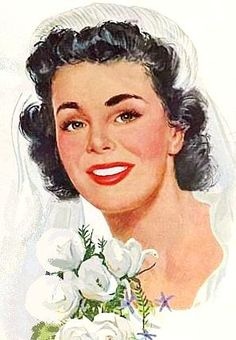 1950s Bride ~ Jon Whitcomb