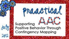 Supporting Positive Behavior Through Contingency Mapping