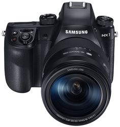 "Samsung NX1 28.2 MP Wireless SMART Mirrorless Digital Camera with 16-50mm f/2.0-2.8 ""S"" Lens. New 28MP Back Side Illuminated APS-C Sensor. The NX AF System III on the NX1 is supported by 205 phase detect auto focus points. NX1 can shoot at up to 15 FPS at full resolution. Captures UHD/4k video to SD card or can output it via HDMI port. Includes Samsung NX1 28.2 MP Smart 4K Camera, 16-50mm f/2-2.8 lens, battery grip, 2 BP1900 batteries, USB battery charging cradle, micro-USB cable, adapter..."