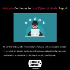 As per the findings of a recent report, Malaysia still continues to attract cybercriminals despite businesses stepping up cybersecurity. Attraction, Community, News, Business, Store, Business Illustration