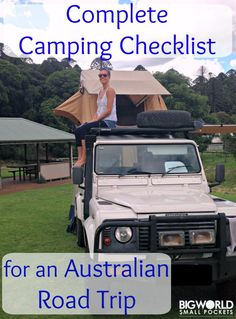 Camping Essentials List for Australia Road Tripping Camper Van Life camping organization camping hac&; Camping Essentials List for Australia Road Tripping Camper Van Life camping organization camping hac&; Camping Essentials List, Rv Camping Checklist, Camping Guide, Camping Games, Camping Activities, Vacation Checklist, Kids Checklist, Camping Theme, Road Trip With Kids