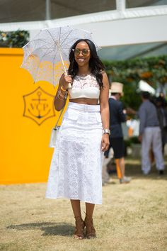 Polo, Anyone? The Style at the Veuve Clicquot Polo Classic