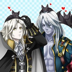 "castlevania SotN & MoF Alucard I don't like lords of shadow as a ""castlevania"" at all but I really like this :D"