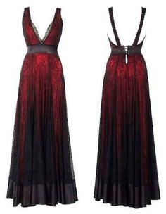 Michal Negrin Lace Gown