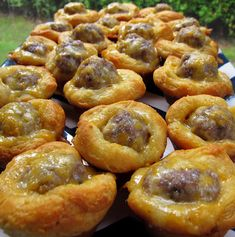 Recipe for Sausage Biscuit Bites - It's tailgating time again! We are making these Sausage Biscuits Bites. We've made these several times; they are SO good!