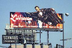 Billboards on Sunset - Liberace